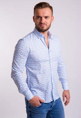 Рубашка TREND Белый + ласточки 02-1057
