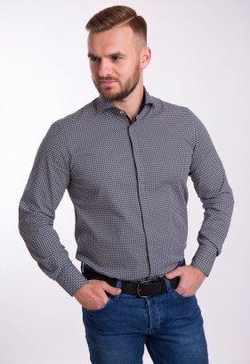Рубашка TREND Белый + черный 02-1058
