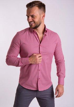 Рубашка TREND Красный + белый 02-1054