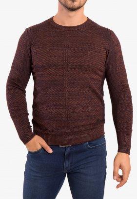 Свитер коричневый Trend