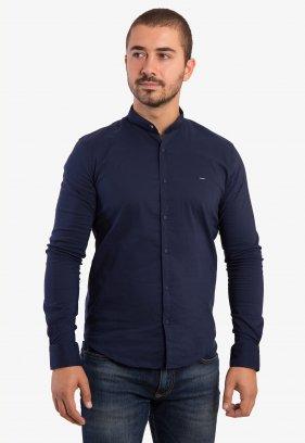 Рубашка синяя Trend
