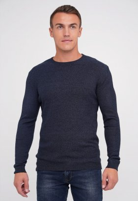 Свитер Trend Collection 0517 Черно-синий (V06)