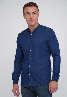 Рубашка FIGO 18270 синий