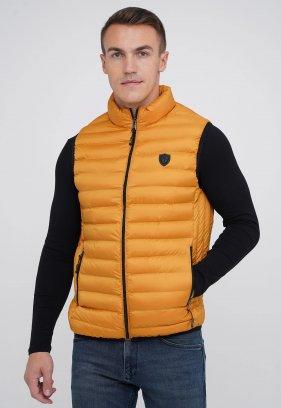 Жилетка куртка MCL 31188 горчичный (HARDAL)