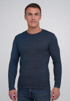 Свитер Trend Collection 0516 синий меланж (V07)
