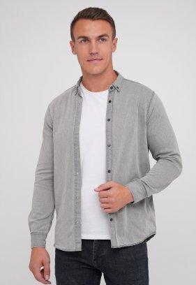 Рубашка FIGO 18126 серый