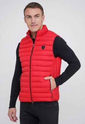 Жилетка куртка MCL 31188 Красный (KIRAMIZI)