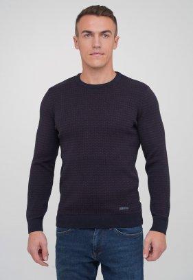 Свитер Trend Collection 211431 Темно-синий+бордовый