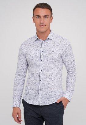 Рубашка Trend Collection 10775 Белый+буквы (V02)
