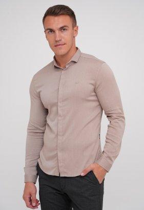 Рубашка Trend Collection 10766 Бежевый (V03)