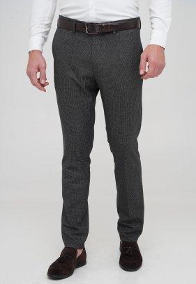 Брюки Trend Collection 1058 серо-черный №2