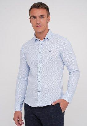 Рубашка Trend Collection 19905 Небесный (V01)