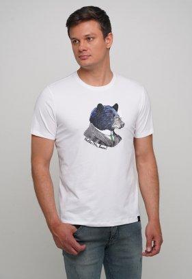 Футболка Trend Collection 70089 Белый + медведь