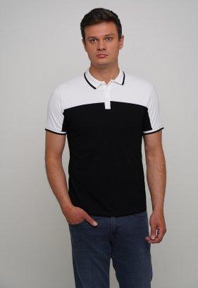 Футболка Trend Collection 70095 Чорний + білий