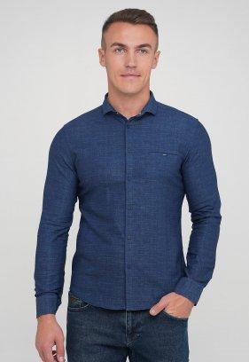 Рубашка Trend Collection BAT 20755 синий (V02)