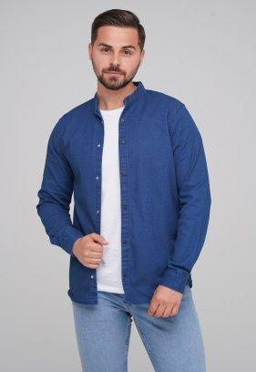 Рубашка FIGO 18127 Индиго