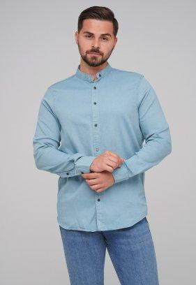 Рубашка FIGO 18127 фисташковый