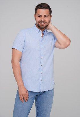 Рубашка Trend Collection BAT 8001-1 Небесный