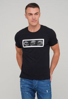 Футболка Trend Collection 39034 Черный+череп