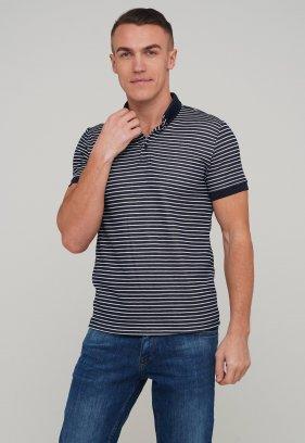 Футболка Trend Collection 8069 Синий+белая полоска