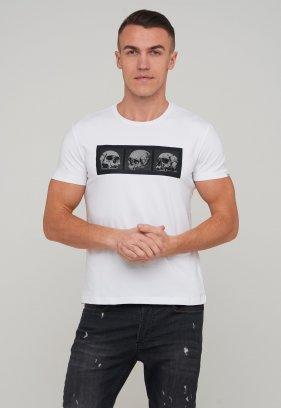 Футболка Trend Collection 39034 Белый+череп