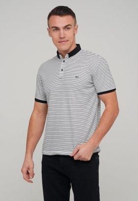 Футболка Trend Collection 4251 Белый+черная полоска