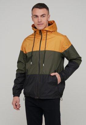 Ветровка Trend Collection 55658 Горчичный+черный+хаки