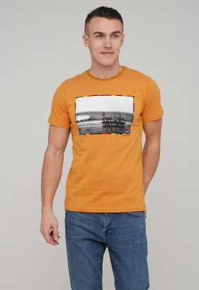 Футболка Trend Collection 2048 Горчичный