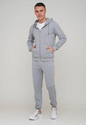 Спорт комплект Trend Collection Кофта 88502 Серый, Штаны 73011 Серый