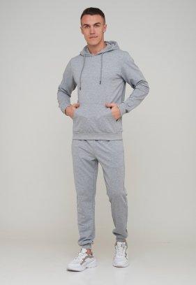 Спорт комплект Trend Collection Худи 15455 Серый, Штаны 73011 Серый