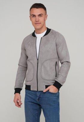 Бомбер Trend Collection 1202 Серый