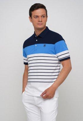 Футболка Trend Collection 62032 Белый+синяя полоска