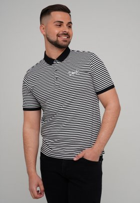 Футболка Trend Collection 21073 Черный+белый