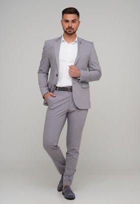 Костюм Trend Collection 3025 Светло-серый