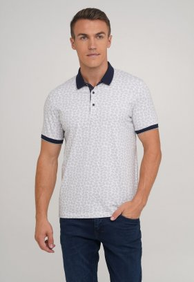Футболка Trend Collection 1727-26 Белый+серый