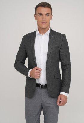 Пиджак Trend Collection 2040 серый точка (BLACK)
