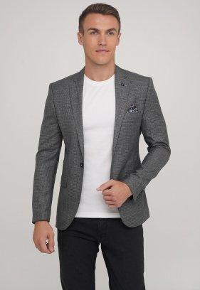 Пиджак Trend Collection 2038 серый + клетка (GREY)