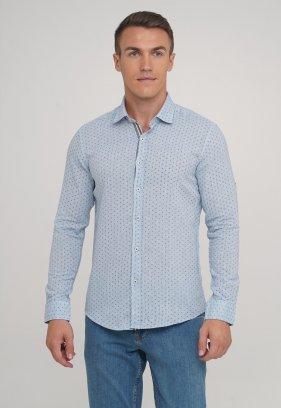 Рубашка Trend Collection 20069-18 Небесный+звездочка