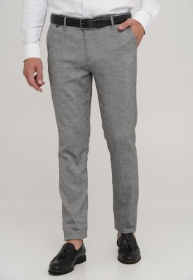 Брюки Trend Collection 1016 серый (BLACK)