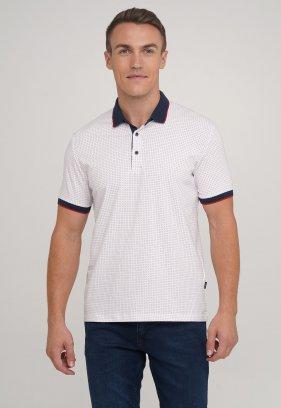 Футболка Trend Collection 1720-06 Белый+красные точки