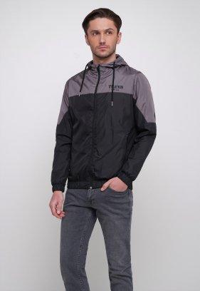 Куртка Trend Collection 20 Черный + серый
