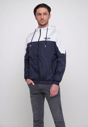 Куртка Trend Collection 20 Темно-синий + белый