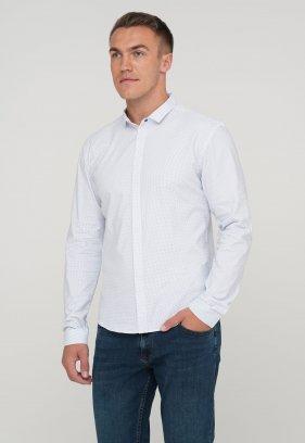 Рубашка Trend Collection 10351 Белый+узор V01
