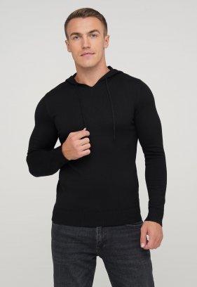 Свитер с капюшоном Trend Collection 3912 Черный