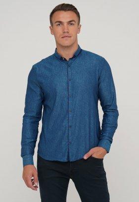Рубашка Trend Collection 10352 Изумруд