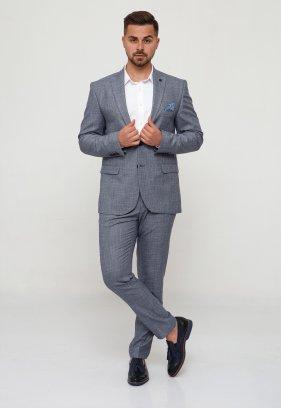 Костюм Trend Collection 3027 Сине-серый