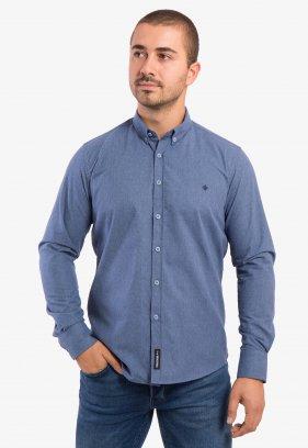 Рубашка светло-синяя Trend