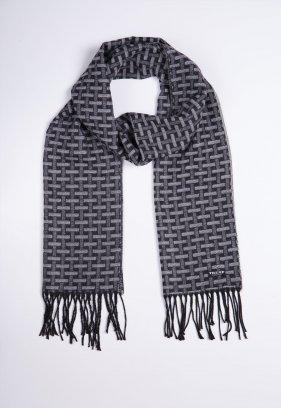Шарф Trend Collection STK-06 Черный+серый