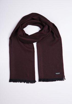 Шарф Trend Collection STK-16 Черный+коричневый
