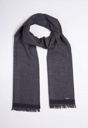 Шарф Trend Collection STK-04 Серый+черный